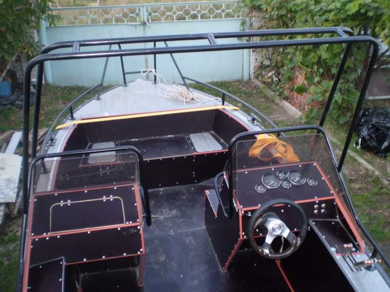 Тюнинг моторной лодки своими руками 13